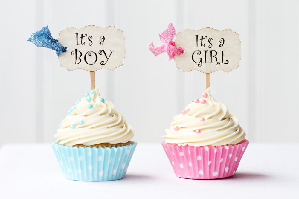 Ważnym elementem baby shower są zabawy: zgadywanie płci lub wybór imiona.